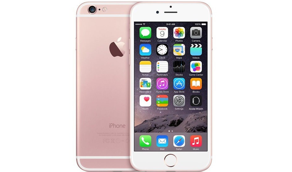 новый iPhone 6s rose gold