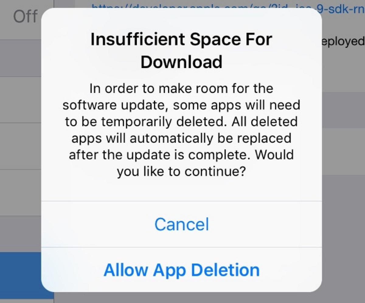 обновление iOS9